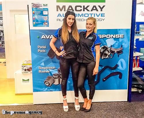 Mackay Automotive - Trade Show Models - thePromoAgency